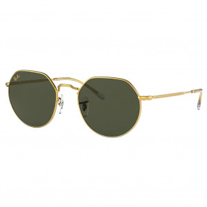 Ray-Ban Jack RB3565 Or Vert Classique G-15