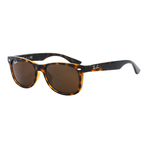 Ray-Ban New Wayfarer Junior Shiny Havana Brown