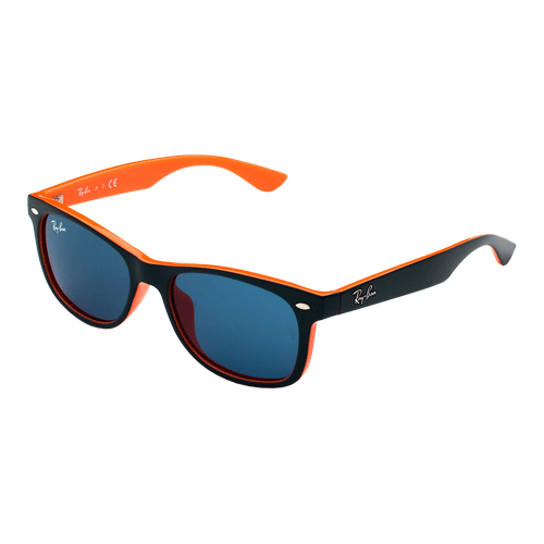 Ray-Ban New Wayfarer Junior Top Blue On Orange Blue