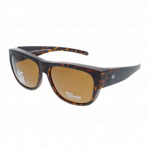 H.I.S - Fit Over Sunglasses HP 79100 Havana Brown Polarized
