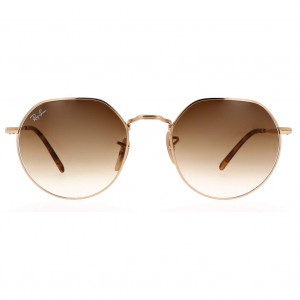 Ray-Ban Jack RB3565 Gold Brown Gradient