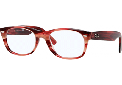 Ray-Ban New Wayfarer Rx Rouge rayé