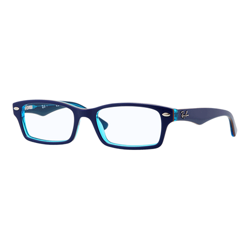 Ray-Ban RY1530 Top Blue on Azure Transparent
