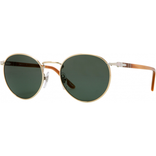 Persol 2388S Shiny Gold Grey Green