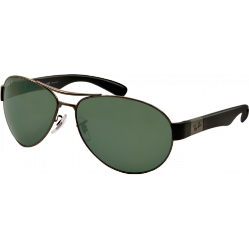 Ray-Ban RB3509 Gunmetal Green Polarized