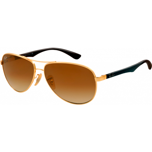 Ray-Ban RB8313 Medium Arista Brown Gradient