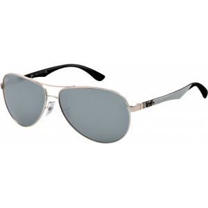 Ray-Ban RB8313 Silver/Black Silver Mirror