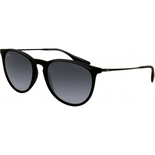 a7d3366c6a4 Ray-Ban Erika Black Rubber Grey Gradient - Ray-Ban Highstreet