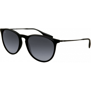 Ray-Ban Erika Black Rubber Grey Gradient