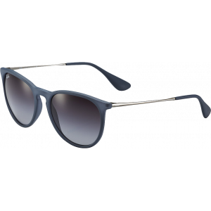 Ray-Ban Erika Rubber Blue Gris Dégradé