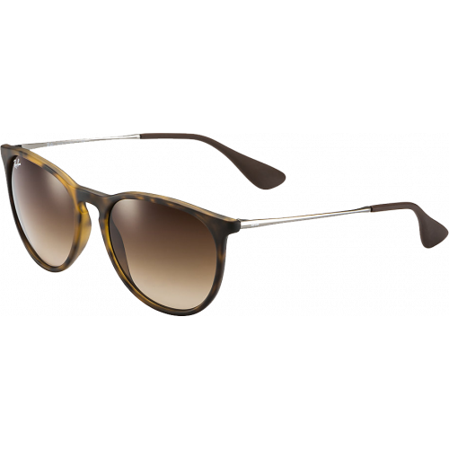 Ray-Ban Erika Havana Rubber Brown Gradient