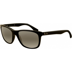 Ray-Ban RB4181 Noir Brillant Gris Dégradé