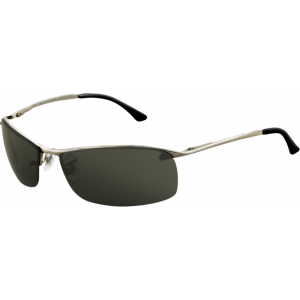 Ray-Ban Top Bar Square Gunmetal Grey Green
