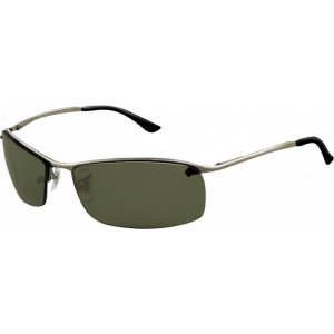 Ray-Ban Top Bar Square Gunmetal Green Polarized