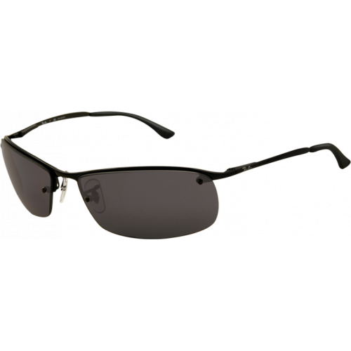 Ray-Ban Top Bar Square Black Grey Polarized