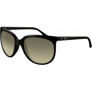 Ray-Ban Cats 1000 Noir Brillant Gris Dégradé