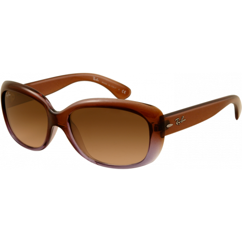 Ray-Ban Jackie OHH Brown Gradient Lilac Brown Gradient