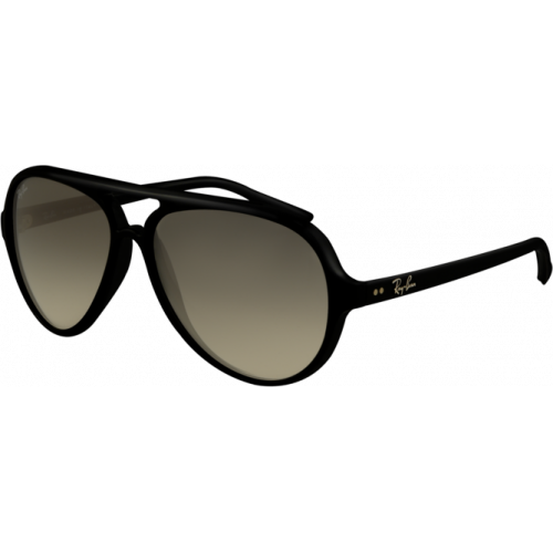 Ray-Ban Cats 5000 Shiny Black Grey Gradient
