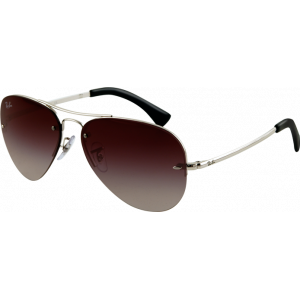 Ray-Ban RB3449 Silver Grey Gradient