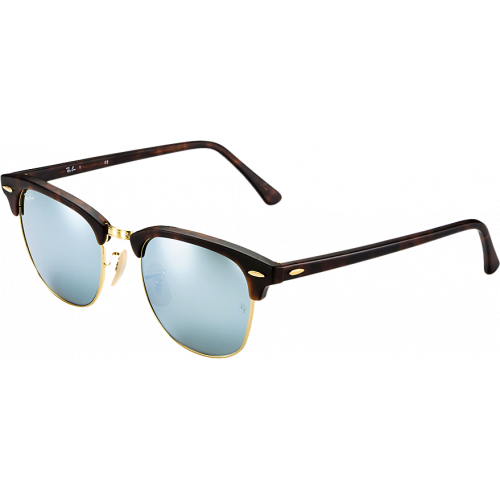 Ray-Ban Clubmaster Flash Large Rouge Ecaille/Vert Mirroité X13OGeqjZV