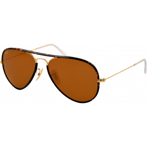 Ray-Ban Aviator Full Color Ecaille/Doré B-15 XLT