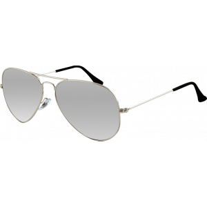 Ray-Ban Aviator Large II Silver Grey Silver Mirror