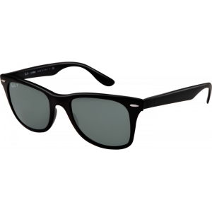 Ray-Ban Liteforce Wayfarer Tech Shiny Black Green