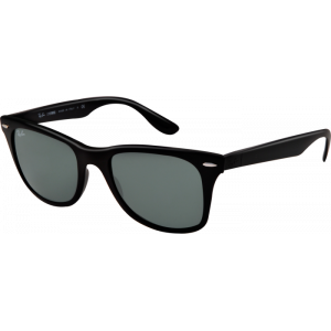 Ray-Ban Liteforce Wayfarer Tech Matte Black Green Polarized