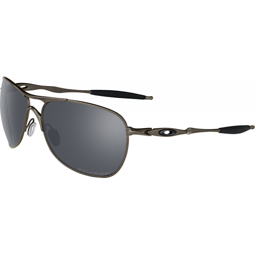 Oakley Titanium Crosshair Pewter Black Iridium Polarized