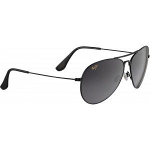 Maui Jim Mavericks Gloss Black Maui Evolution Gradient Neutral Grey Polar +