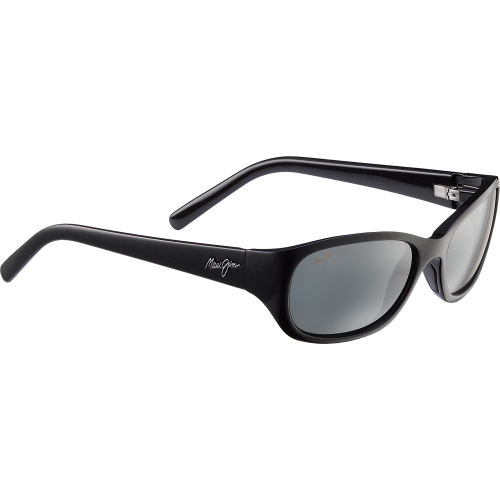 Maui Jim Kuiaha Bay Midnight Black Neutral Grey Gradient Mineral ST