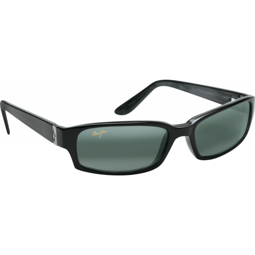 Maui Jim Atoll Gloss Black Neutral Grey Polar+