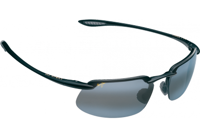 Maui Jim Kanaha Gloss Black Neutral Grey Polar+