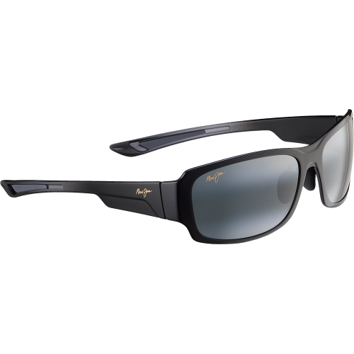 Maui Jim Bamboo Forest Gloss Black Neutral Grey Polar+