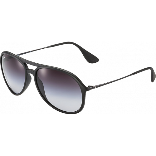 Ray-Ban Alex Rubber Black Grey Gradient