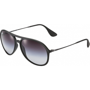 Ray-Ban Alex Rubber Black Gris Dégradé