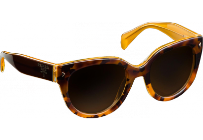 Prada SPR17O Light Havana/Yellow Brown Gradient
