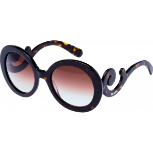 Prada SPR27N Tortoise Brown Gradient