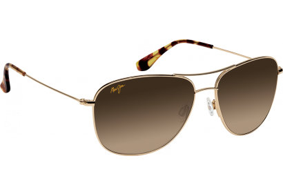 Maui Jim Cliff House Gold Maui Evolution Gradient Bronze HCL Polar +