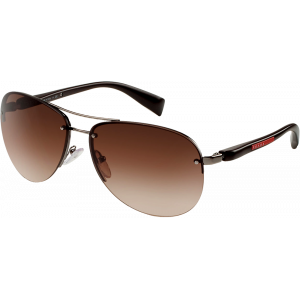 Prada SPS56M Gunmetal Brown Gradient