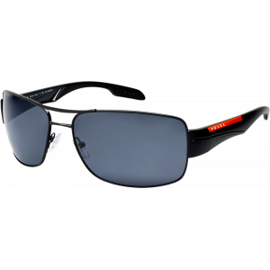 Prada SPS53N Matte Black Grey Polarized