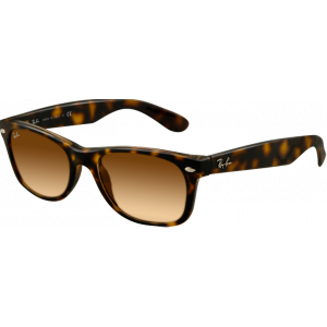Ray-Ban New Wayfarer Light Havana Brown Gradient