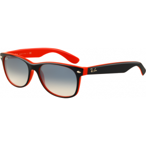 Ray-Ban New Wayfarer Bleu/Orange Bleu Clair Dégradé