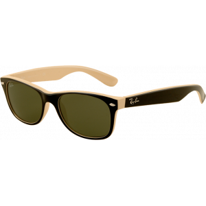 Ray-Ban New Wayfarer Black/Beige G-15 XLT