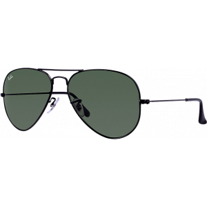 Ray-Ban Aviator Large Black G-15 XLT