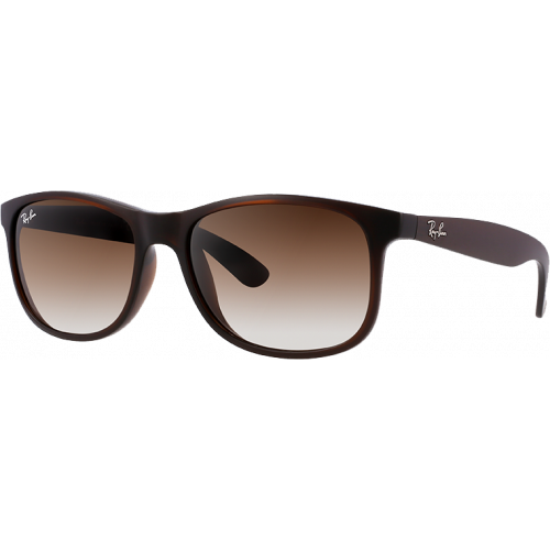 Ray-Ban Andy Brun Brillant Brun Dégradé