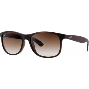 Ray-Ban Andy Shiny Brown Brown Gradient