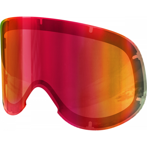 POC Lid spare lens  Persimmon/Red Mirror