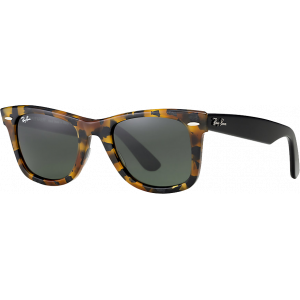 Ray-Ban Original Wayfarer Fleck Medium Fleck Spotted Black Havana G-15 XLT