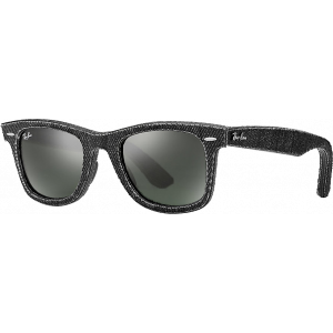 Ray-Ban Original Wayfarer Denim Noir G-15 XLT